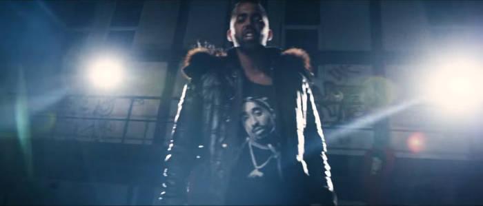 Al Gear TuPac T-Shirt schwarz