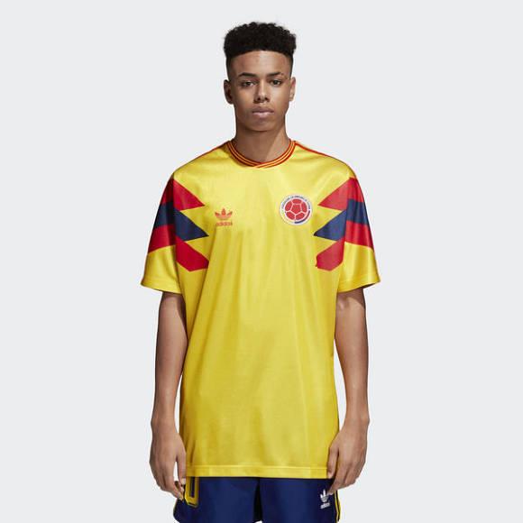 Dardan T-Shirt Trikot gelb Kolumbien Adidas