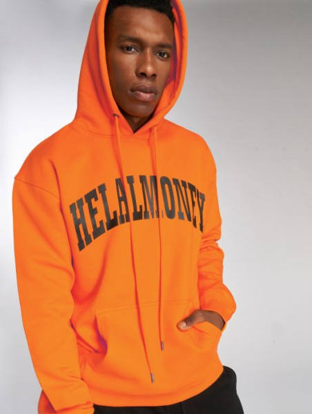Farid Bang Helal Money Hoodie Orange