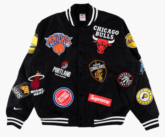 Supreme Nike NBA Teams Jacket