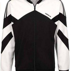 Bushido Jacke Adidas schwarz weiß
