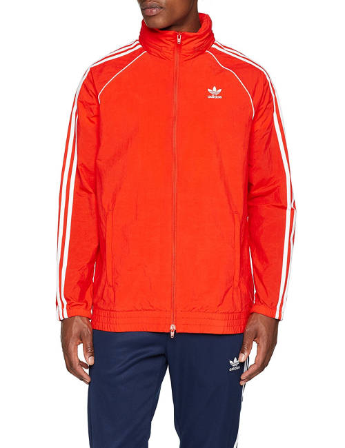 Bushido Jacke orange