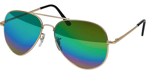 Fard Sonnenbrille Ray Ban Aviator Rainbow