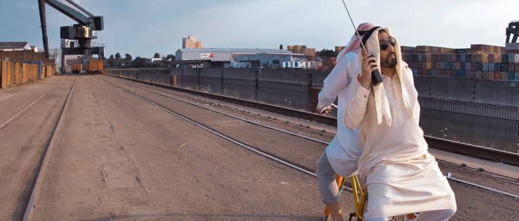 Fard Üff Üff Scheich Fahrrad