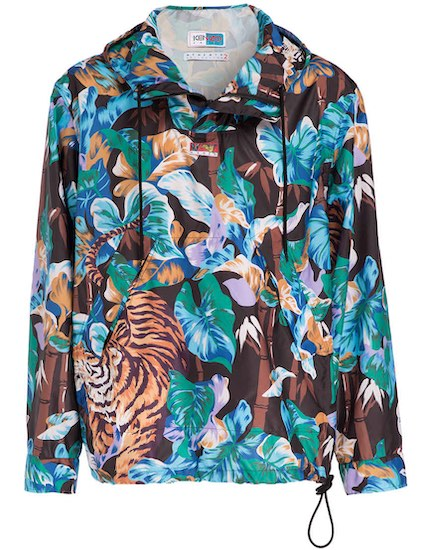 Kenzo Tiger Blumen Jacke Herren
