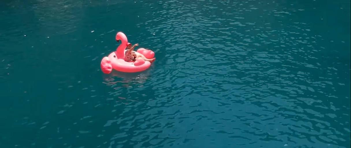 Leon Machere Flamingo aufblasbar