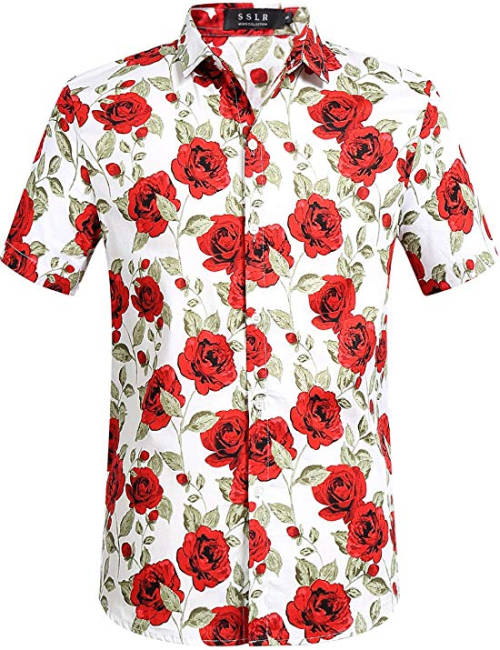 Leon Machere Hawaii Hemd