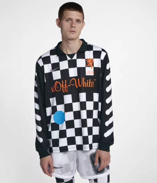 Nike X OffWhite Pullover Trikot