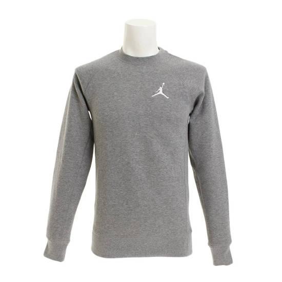 Pullover grau Jordan Logo weiß