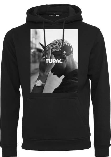 Tupac Hoodie schwarz