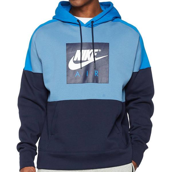 Azet Nike Pullover blau
