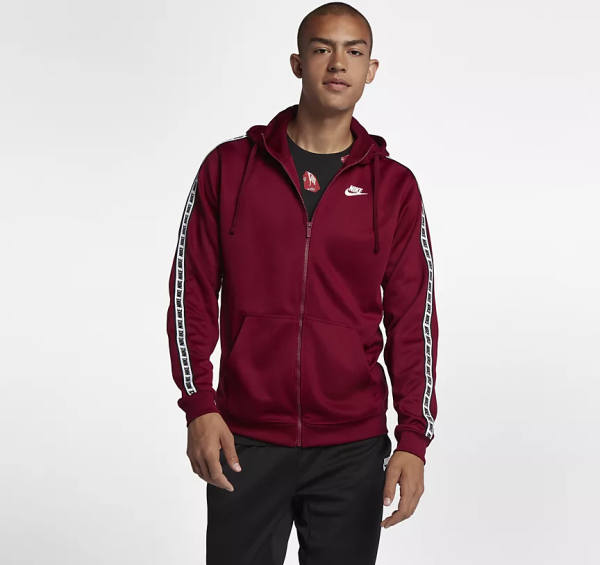 Azet Nike Pullover rot