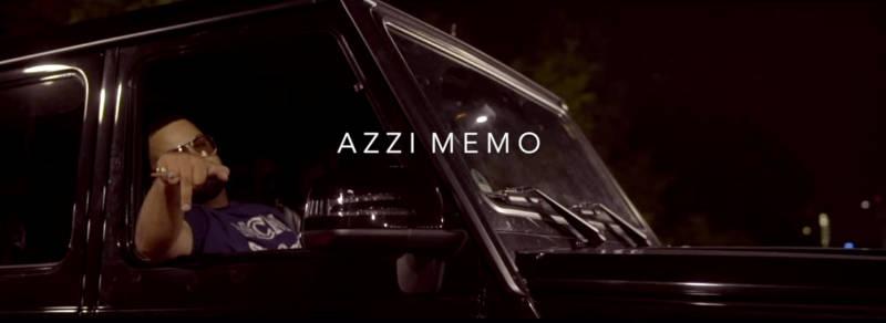 Azzi Memo bei Nacht