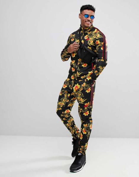 Azzi Memo Trainingsanzug Blumen