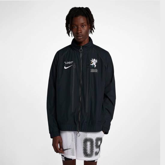Bonez Jacke schwarz Nike Logo