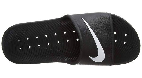 Capital Bra Nike Schlappen schwarz