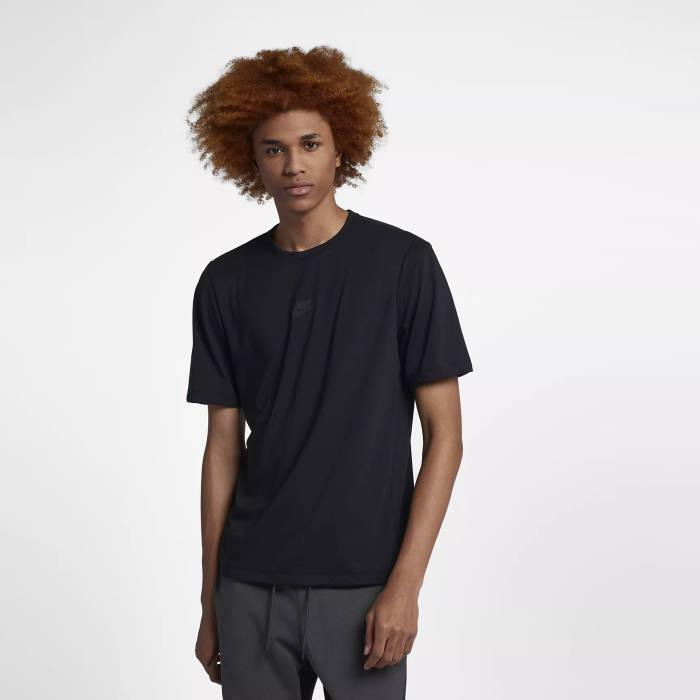 Capital Bra Nike T-Shirt schwarz Logo mittig