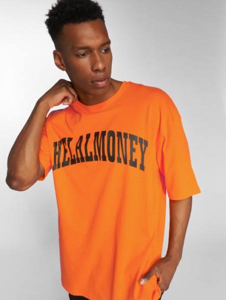 Farid Bang T-Shirt Helal Money orange