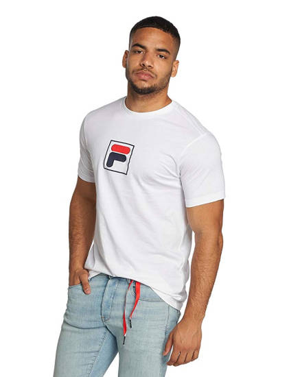 Fila Logo T-Shirt weiß