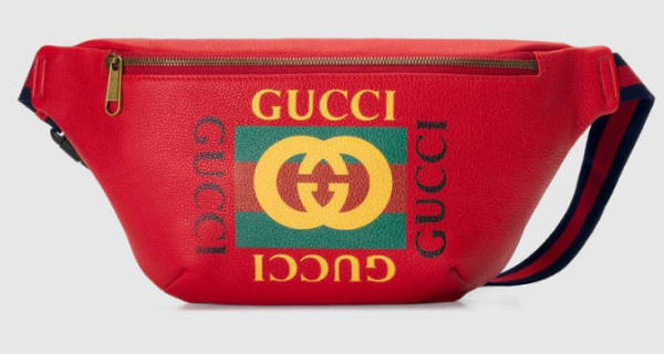Gucci Bauchtasche rot