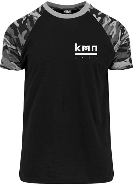 KMN Gang Merch T-Shirt dark Camo