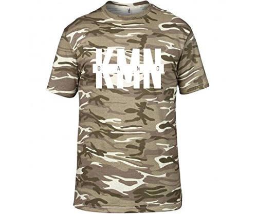 KMN Gang T-Shirt Camouflage Sand