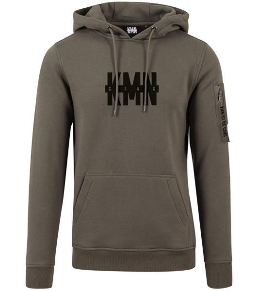 KMN Merchandise Hoodie grün