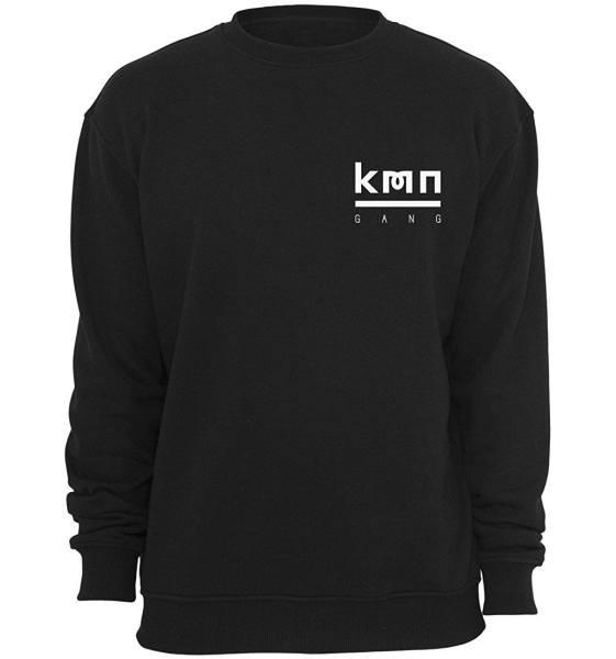 KMN Sweater schwarz