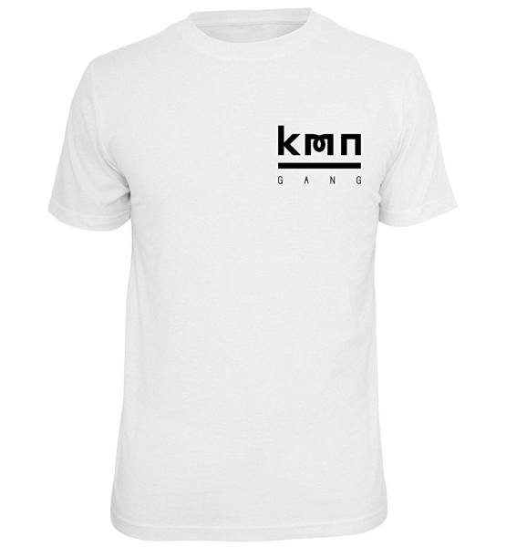 KMN T-Shirt weiß
