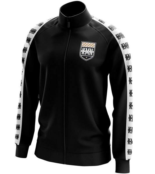 KMN Trainingsanzug Jacke schwarz