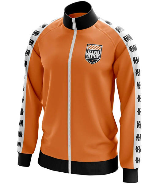 KMN Trainingsjacke orange