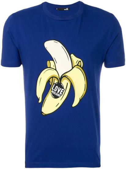 Love Moschino Banane T-Shirt