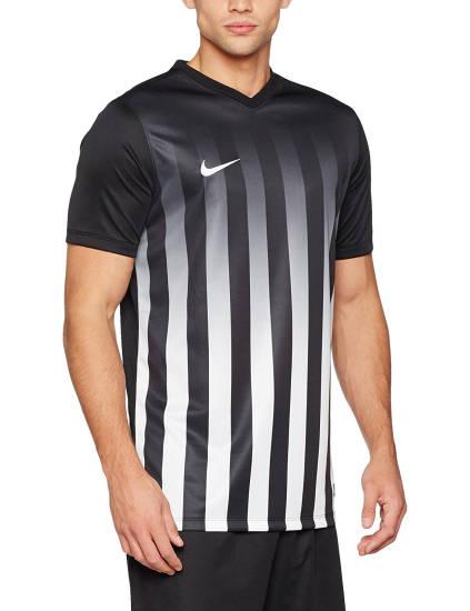 Nike Trikot schwarz weiß gestreift