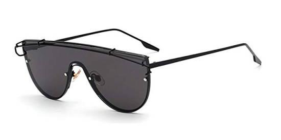 Quadratische Designer Sonnenbrille