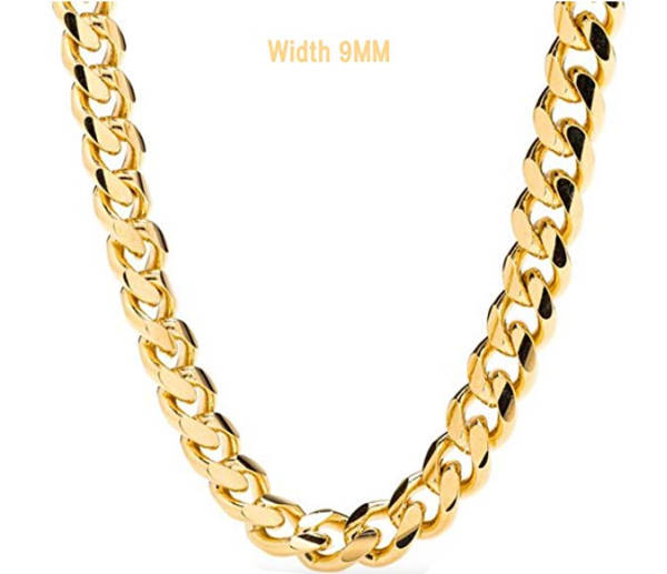 Rapper Goldkette Panzerkette