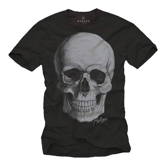 Totenkopf T-Shirt schwarz