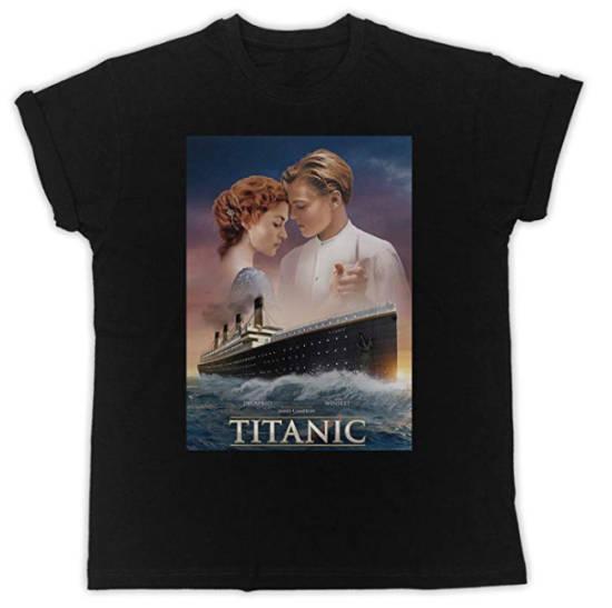 Titanic T-Shirt schwarz