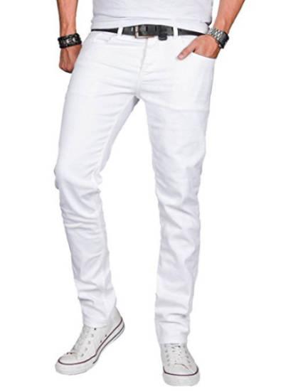 6ix9ine Style Hose weiß