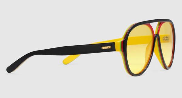 Azzi Memo Sonnenbrille gelb