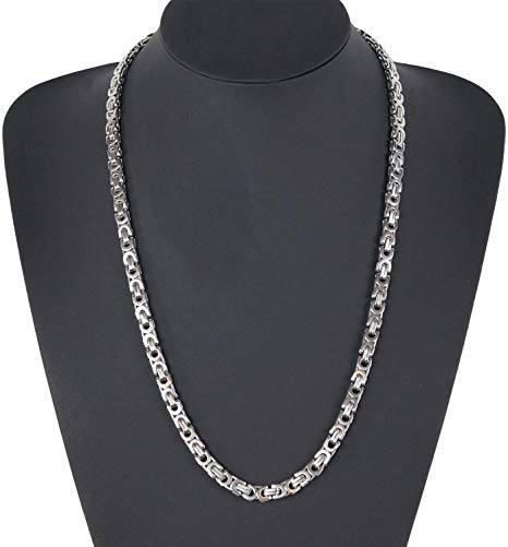 Gzuz Halskette silber