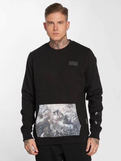 Jigzaw Sweatshirt schwarz