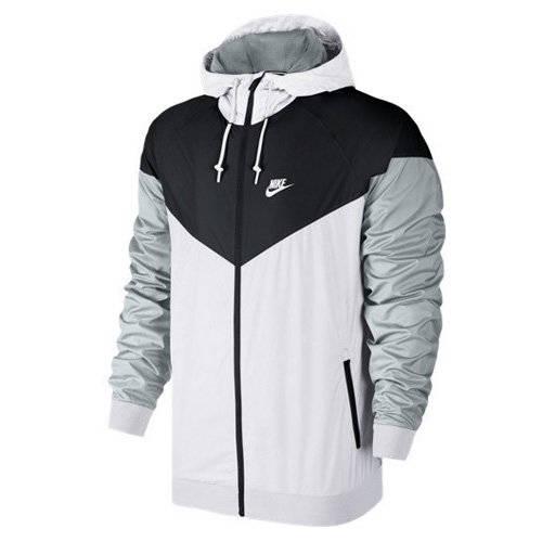 Nike Windrunner schwarz weiß grau