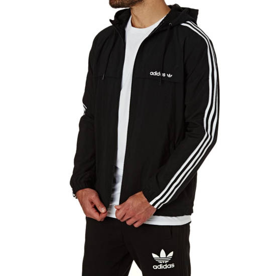 Adidas Windbreaker gestreift