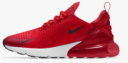 Capital Bra Nike Air Max 270 rot