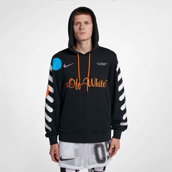 Capital Bra Nike X Off-White Hoodie