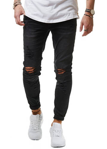 Fler Style Jeans Destroyed Look