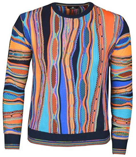 Fler Style Montechiaro Pullover bunt