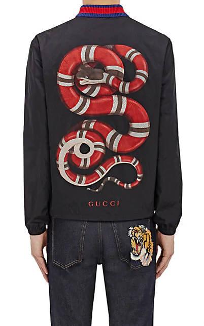 Kollegah Style Gucci Schlangen Hemd