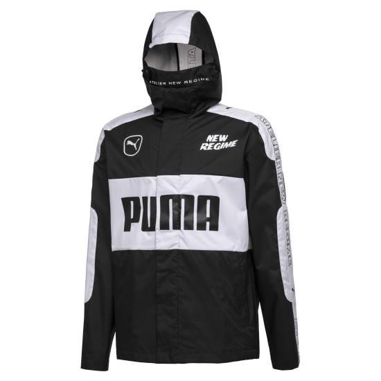 Kurdo Puma Jacke schwarz weiß