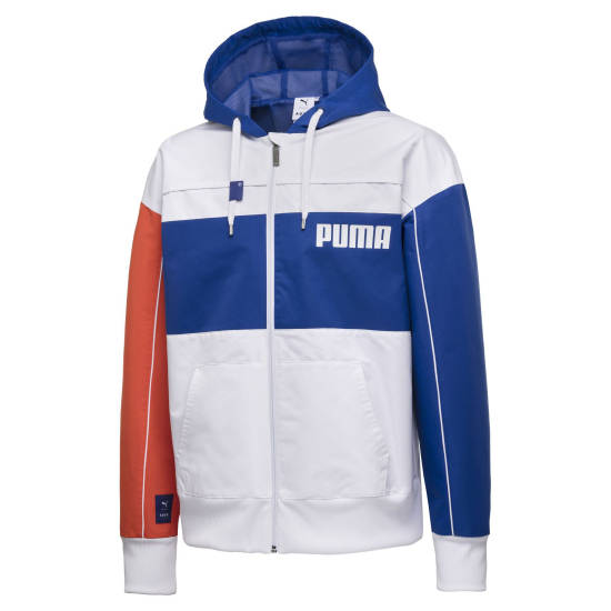 Kurdo Puma Jacke weiß blau
